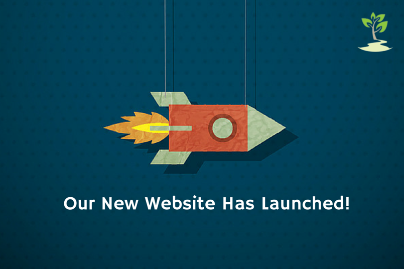 Official launch of our new website
